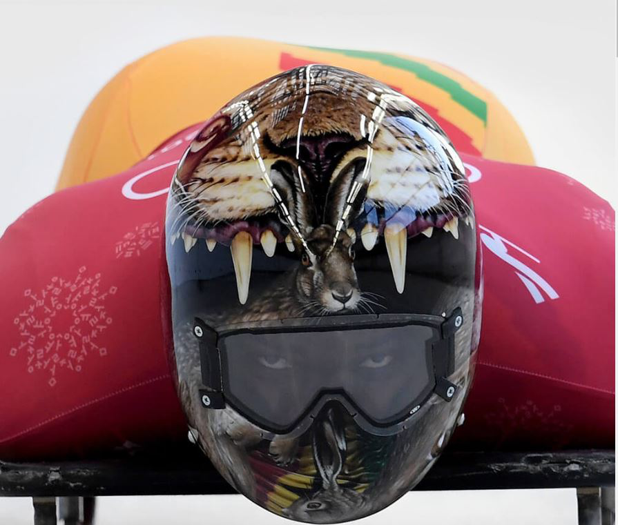 2 - The Coolest Helmet Designs From Skeleton Racers Around the World